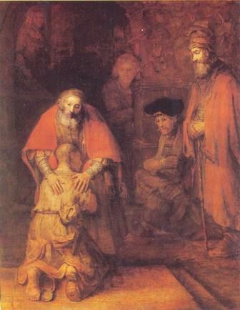 Блудный сын. Рембрандт