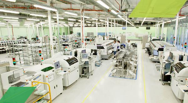 GS Group на 10 % увеличил мощности производства электроники в Калининградской области