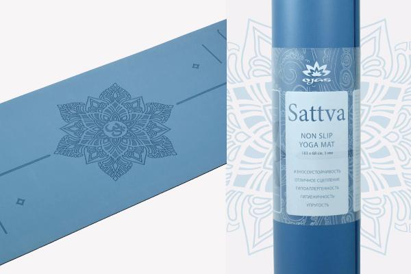 Коврик для йоги Sattva 183x68x0,5 см